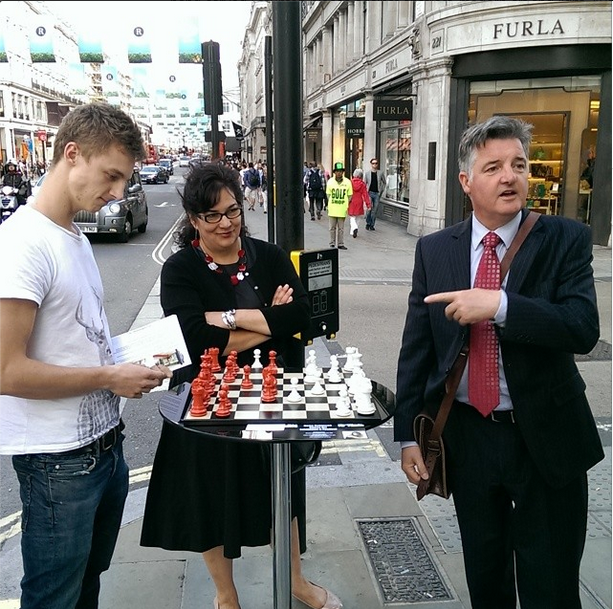 chess in regents st