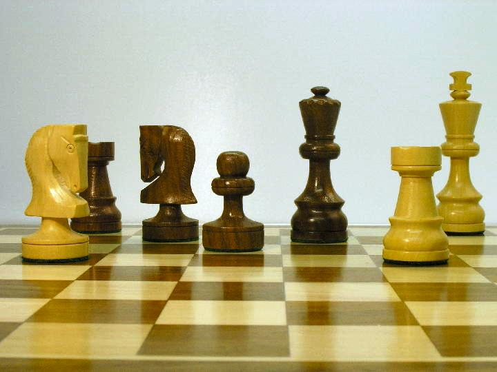 Weighted Russian Classic 3 Inch King Chess Pieces 0