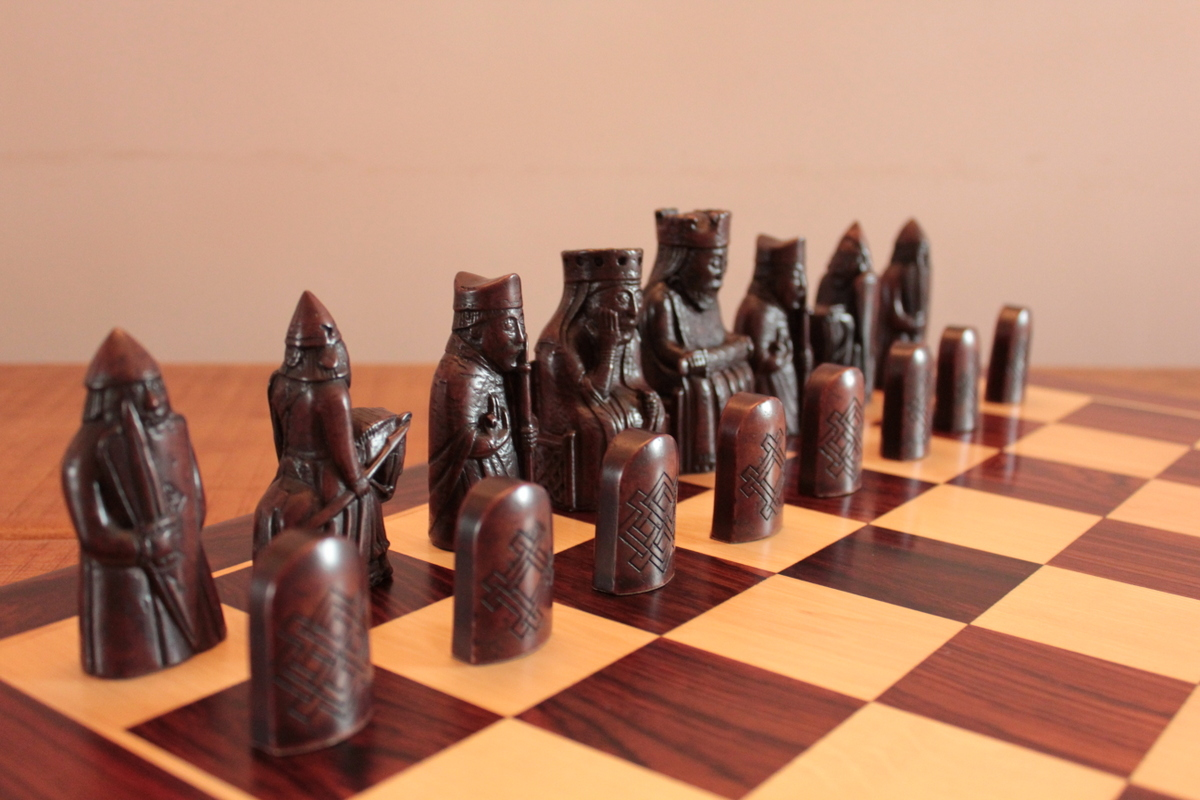 National Museum Of Scotland Isle Of Lewis Chess Pieces In