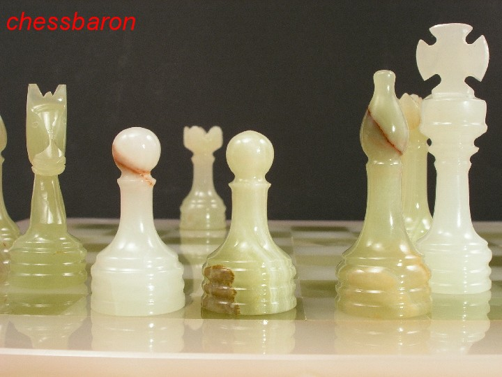Genuine Onyx Chess Set With Marble Board 0 1278 426100